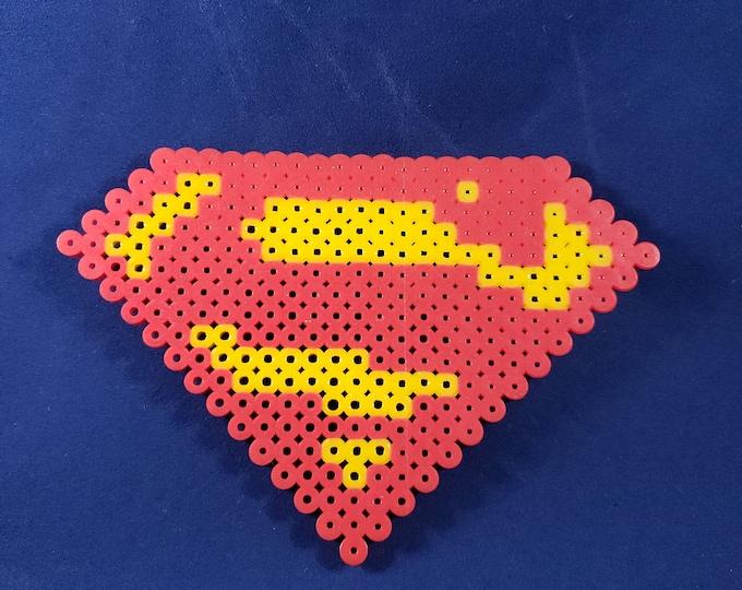Perler Superman Logo