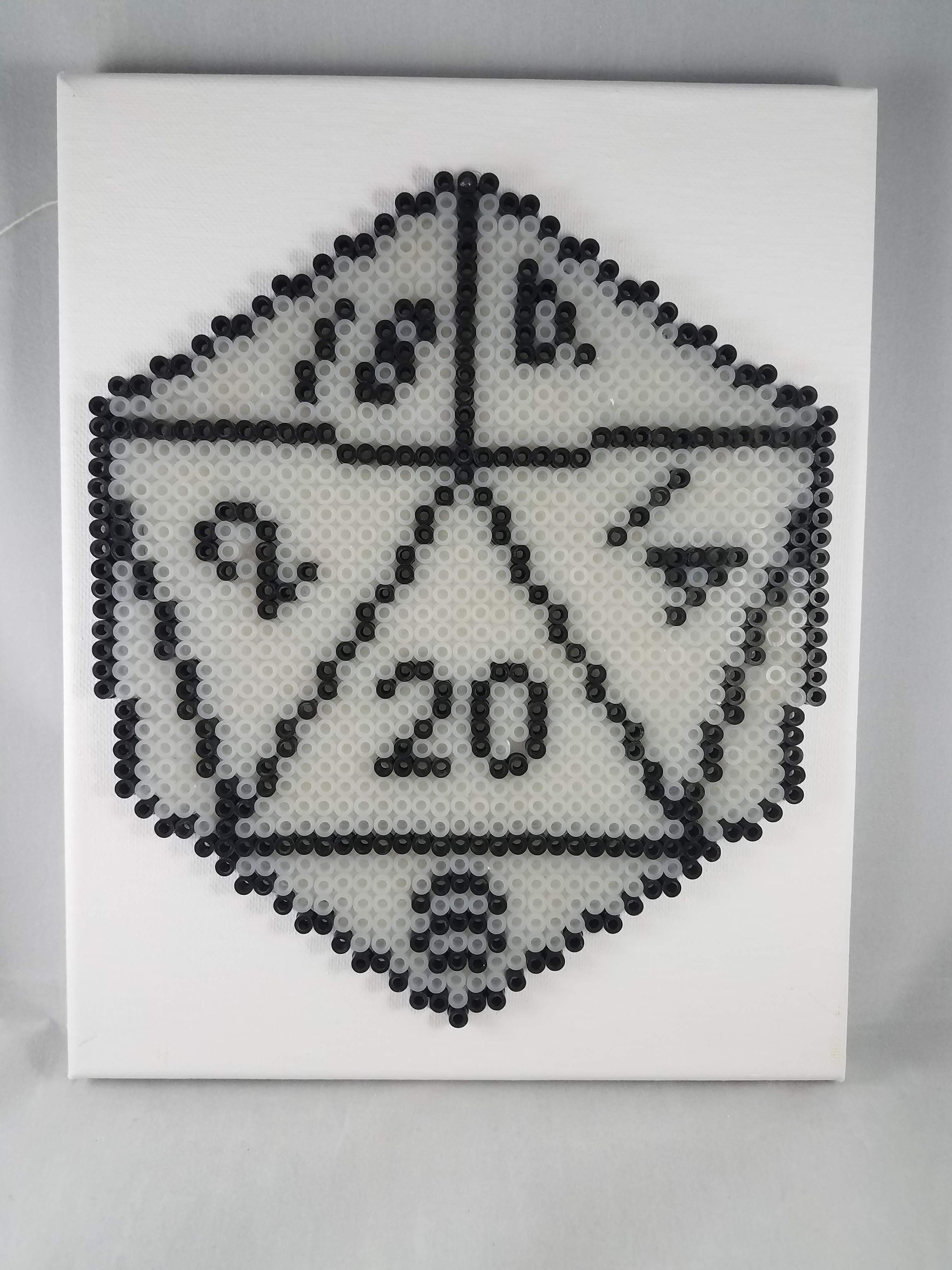 Dice Needlepoint Canvas Game