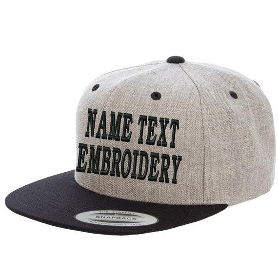 Men Women Custom Text Embroidered Hat Team Christmas Adjustable Snapback Baseball Caps