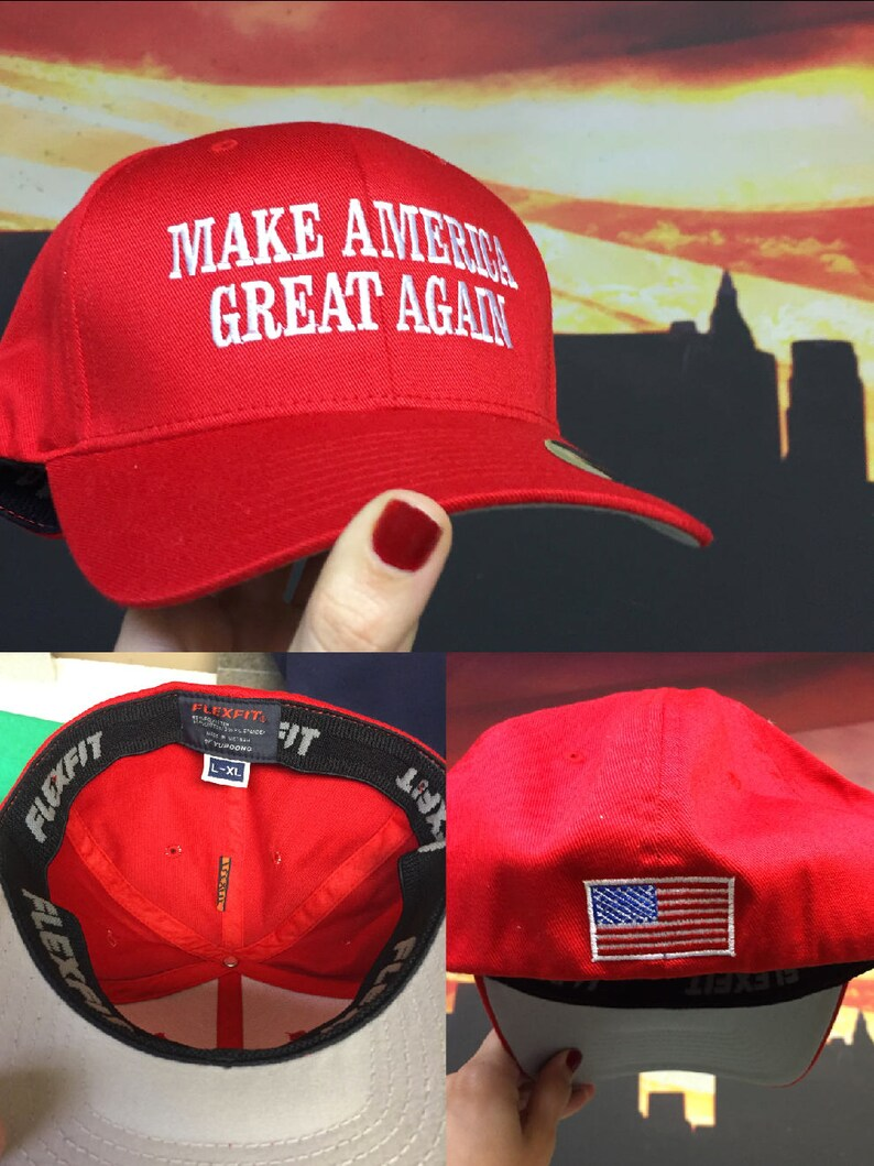 4366e22a9b6 Trump Hat Make America Great Again Hat Trump Maga Hat Flex