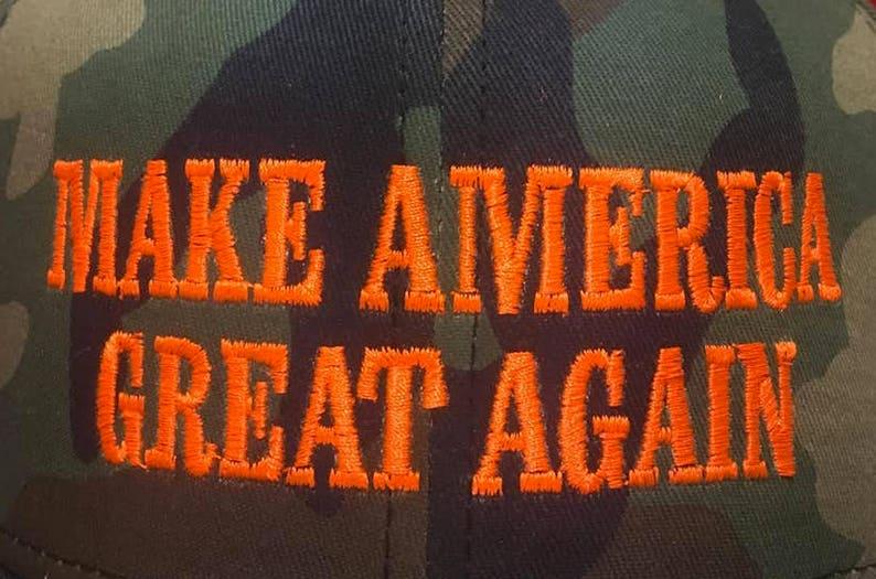 Make America Great Again Trump Hat Fitted MAGA Flat Brim  8b9999389ddc