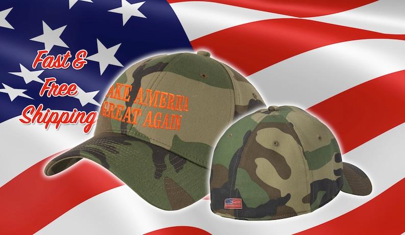 Make America Great Again Trump Hat Fitted MAGA Cap  f3ea03e88dca