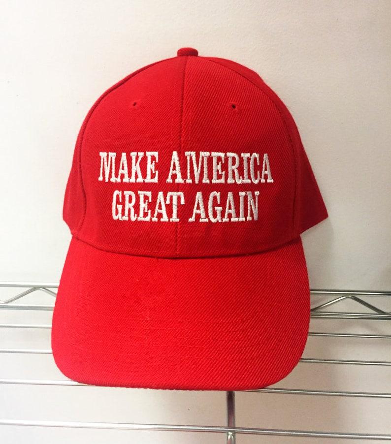 d5392110678 Trump MAGA Hat Make America Great Again Adjustable Hat Kanye