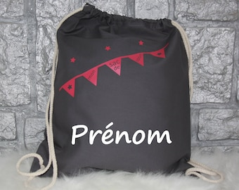 Personalized sports bag, personalized backpack custom gym bag