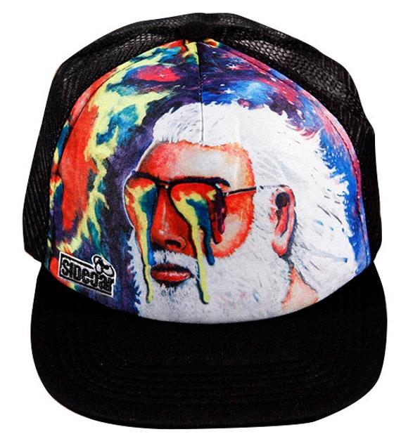 Grateful Dead Trucker Hat JERRY GARCIA HAT  181649739e53