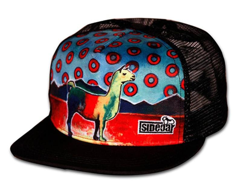 10. Llama Baseball Hat