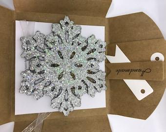 Snowflake for Christmas  Tree gift