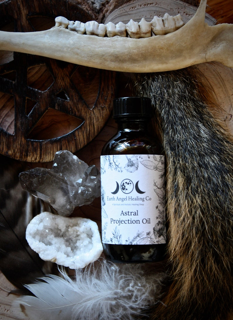 Astral Projection Ritual Oil/Pagan/Wicca/Spiritual