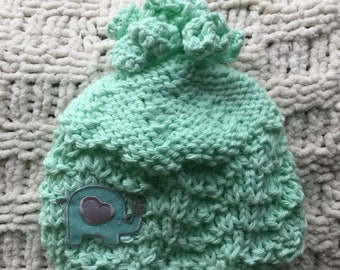 Soft and Sweet Knitted Baby Hat