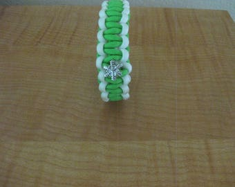 Paracord Bracelet With Charms