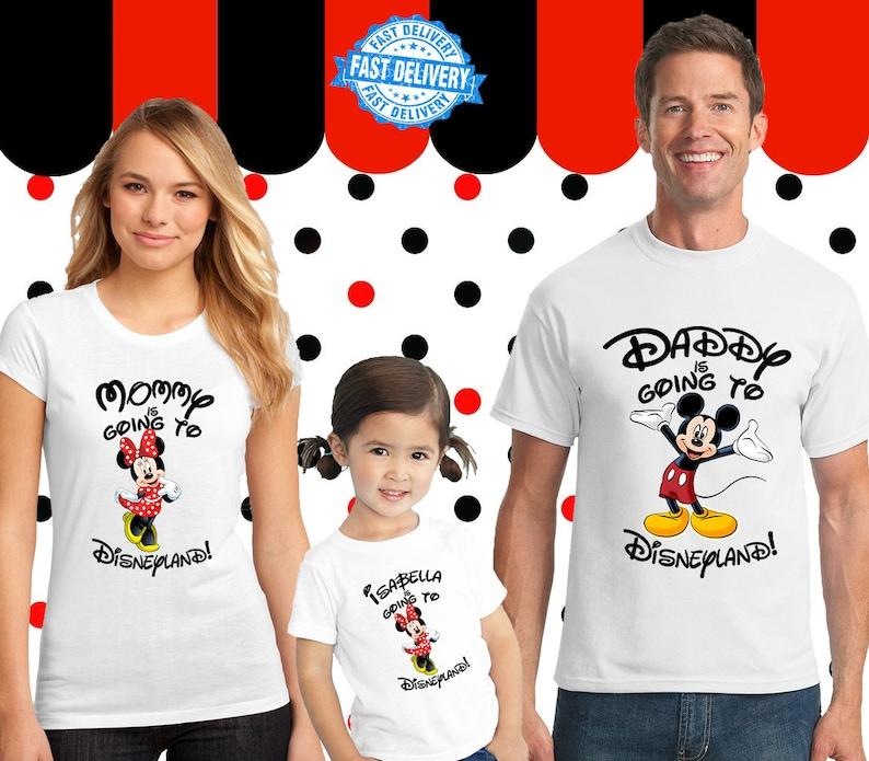 Disneyland Family Shirt Custom Personalized