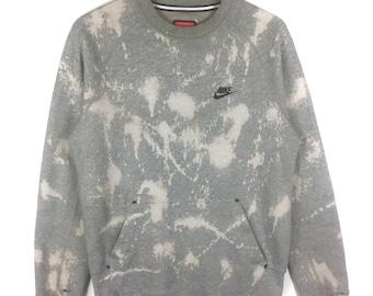 Vintage Nike Cropped Batwing Arms Sweatshirt~Sz Small