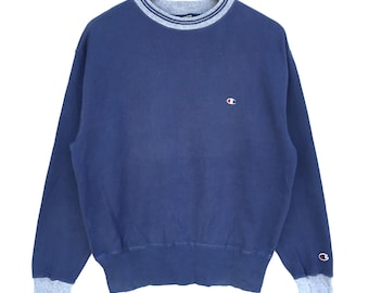 Sweatshirt Embroidered Vintage Logo Crewneck Small Champion rthCsQxd