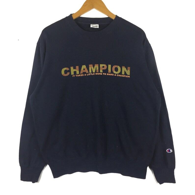2e7bb3be8826 Champion Sweatshirt big logo champion product Crewneck Vintage