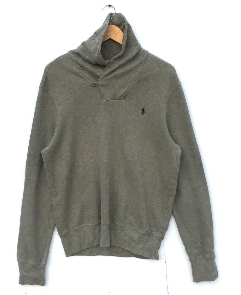 682a08188e3b Polo Small Pony Sweatshirt Ralph Lauren LARGE Size green