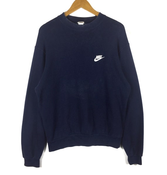 1256c901 Nike sweatshirt small Swoosh logo embroidered vintage 90's | Etsy
