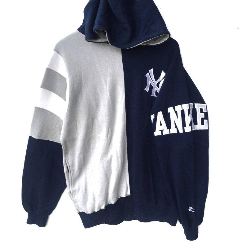 Vintage 90 s 80 s New York yankees hoodie sweatshirt  c738babe69d