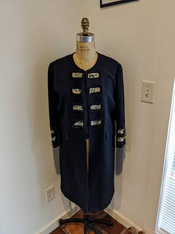 ORIGINAL GRYPHON NYC Vintage Dressy Military Inspi