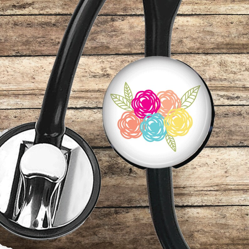 retractable badge stethoscope ID tag lanyard badge clip Because cross badge reel