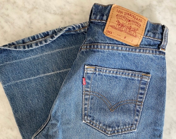Vintage Levis Denim Pants Waist 29""