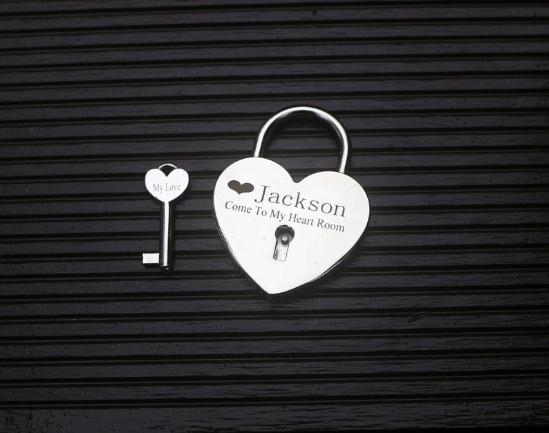 Love Heart Gifts Gold Lock Wedding Gifts Couple Gifts Love Lock Engraved Couple Gifts,Lock Wedding Gifts Love Heart Lock Engraved Gifts
