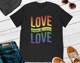 Love Is Love | | Gay Shirt | Lesbian Shirt | Gay Pride | Lesbian Pride | Pride T-Shirt | Pride Prade | LGBT | LGBTQ