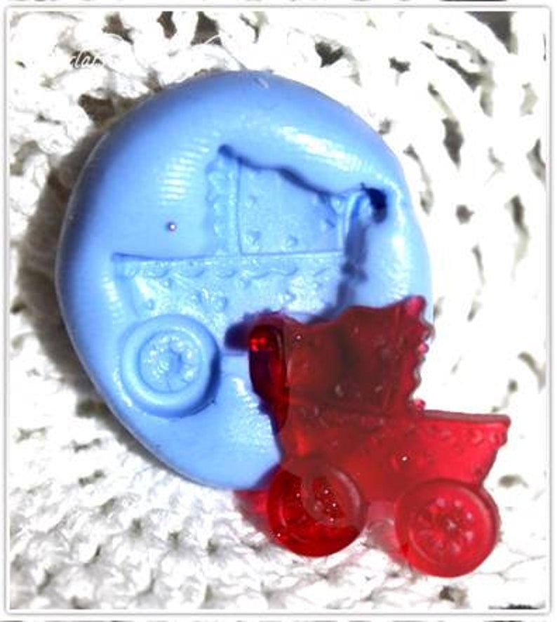 Silicone mold baby theme 2
