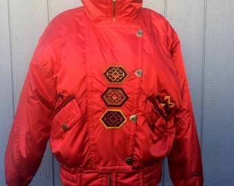 Vintage Tribal Snuggler Ski Jacket