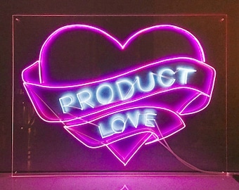 NEW 3.2mm THICKER El Wire custom neon sign/ choose 15 letters/
