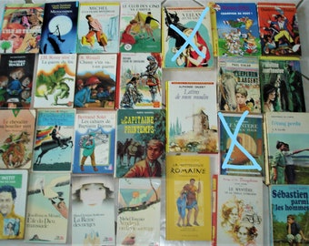 to choose lot of green, pink, and other vintage good condition books and TBE