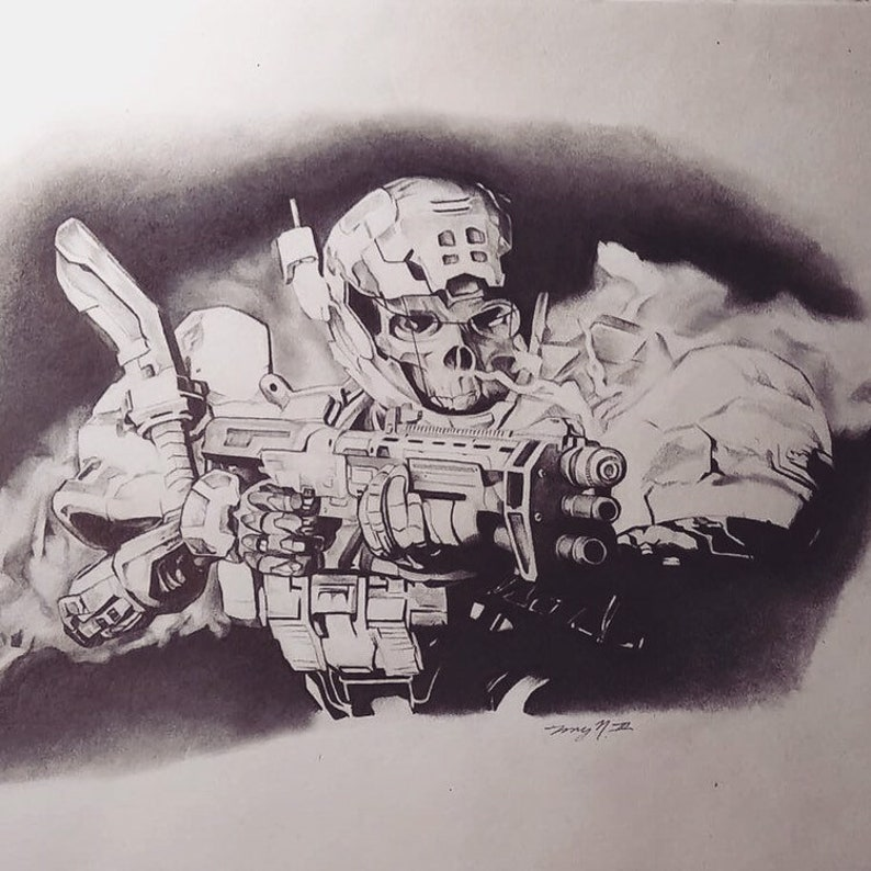 Halo Reach - Haunted Print