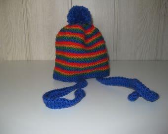 child hat in wool