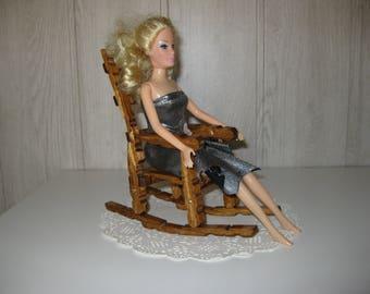 decorative clothespins rocking chair