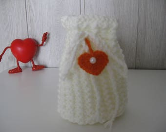 ♥ pouch or purse in wool