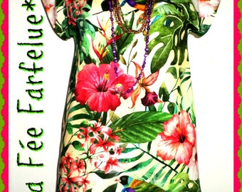 TROPIC tunic cotton thick from 34 to 50