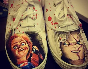 e5f83f0f8c90 Chucky childs play bloody sneakers