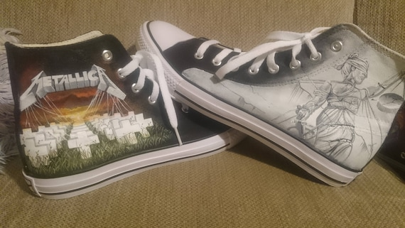 CONVERSE Metallica And Justice for All High Shoes