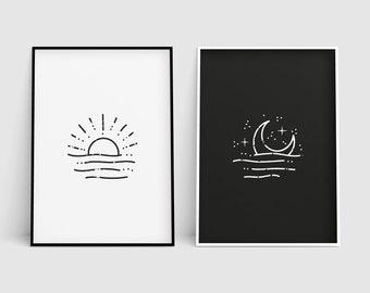 Moon / Stars / Space