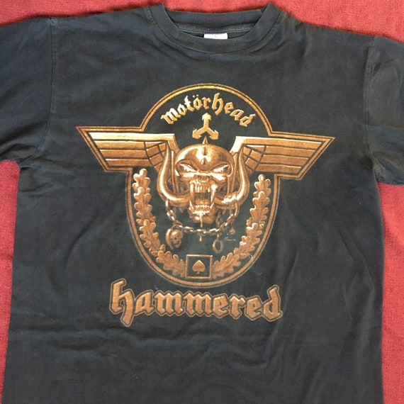 Motorhead hammered vintage shirt early 00s