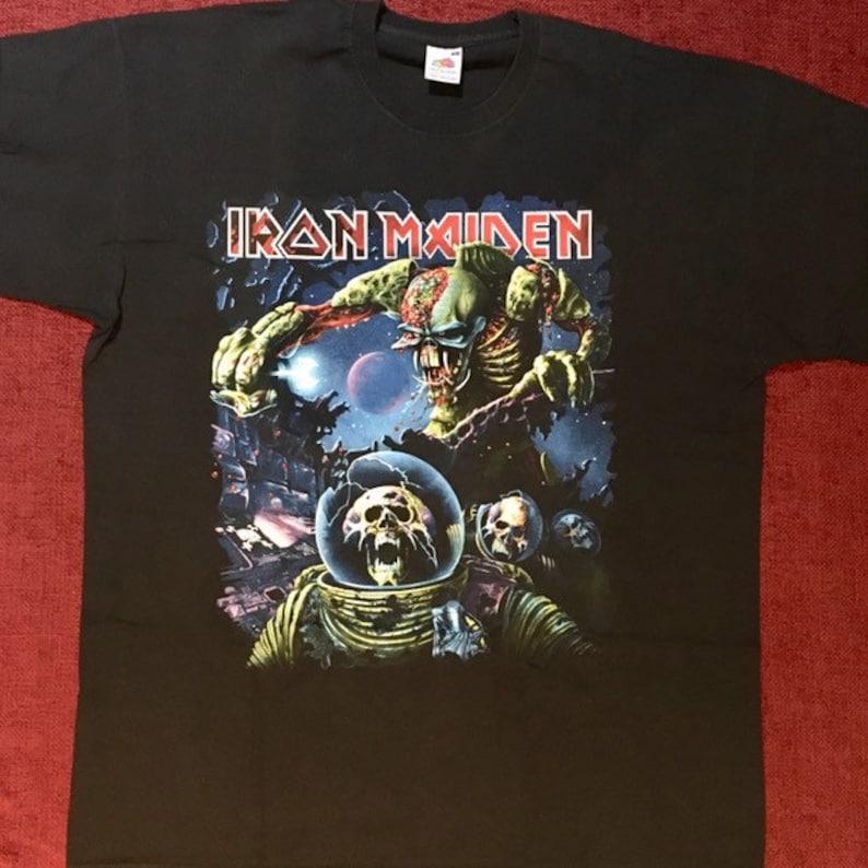 Iron maiden final frontier tour shirt