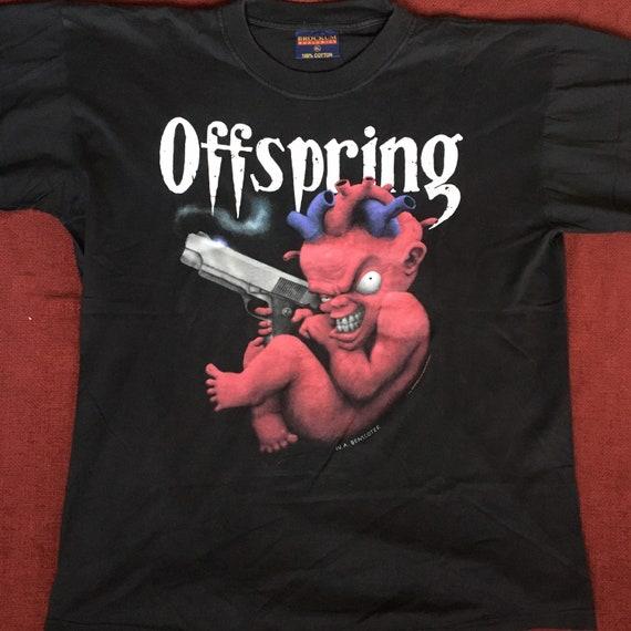 The Offspring  vintage shirt early 90s devil brock