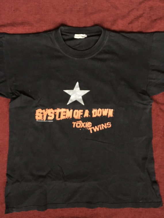 vintage System of a Down early 00s shirt toxic twi