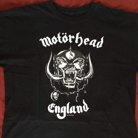 Motorhead england everything louder shirt early 00