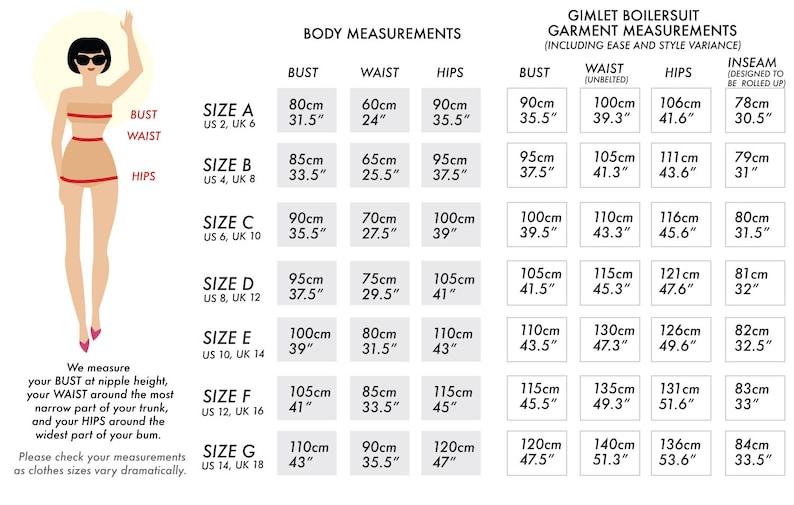 Gimlet Boilersuit // Utility Jumpsuit Pattern. Boilersuit image 3