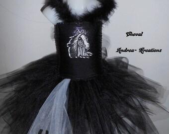 Black Horse costume, Carnival costume