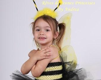 Little bee costume, costume, Carnival, TutusDeReves, birthday gift