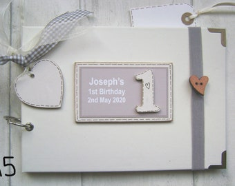 "birthday Personalised guestbook photo album 36 x 6x4/"" my 50th year memory book"