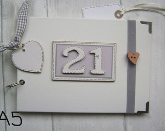 "Personalised guestbook photo album 36 x 6x4/"" 60th Birthday memory gift"