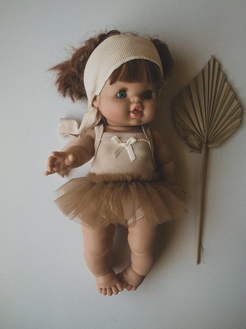 Minikane Paola  Reina Cute ballerina tutu for 38cm doll Miniland