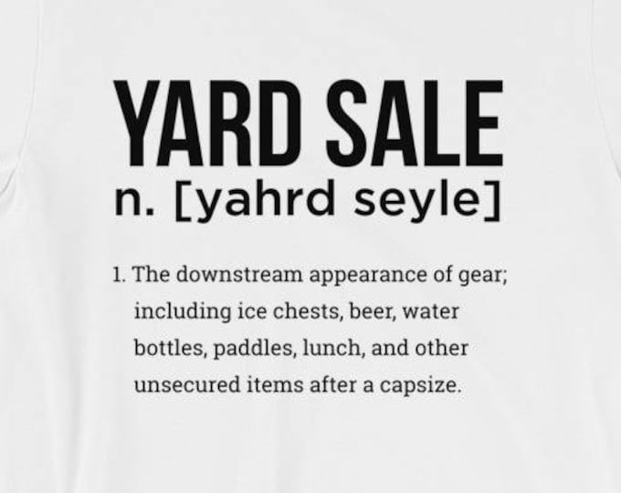 Yard Sale Paddle Soul short sleeve t-shirt